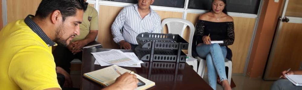 REUNION DE TRABAJO CON TECNICOS DE FUNDACION HUMANA